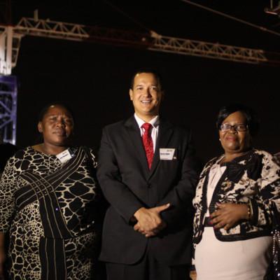 Her Royal Highness Deputy Mayor of Ethekwini - Cllr Nomvuzo Shabalala & Marius Muller CEO of Pareto Ltd